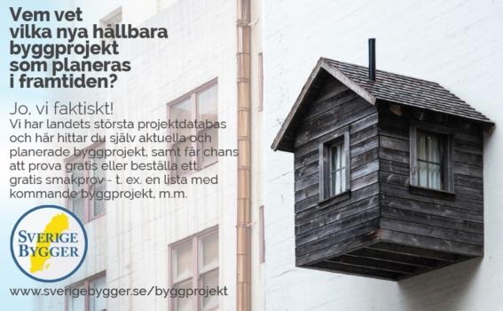 Sverige Bygger byggprojekt