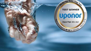 Uponor: bevisat ansvar för friskt vatten och säkra installationer