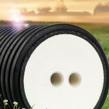 Ett whitepaper om energieffektivare värmedistribution med PUR-skumsisolerad kulvert