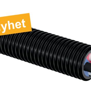 Uponor lanserar nytt värme- och kabelskyddsrör