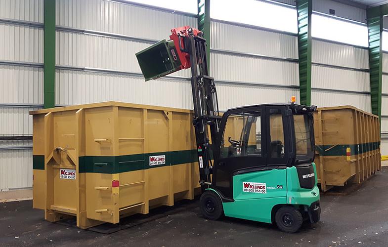 Invigning av ny anläggning för omlastning och sortering avfall