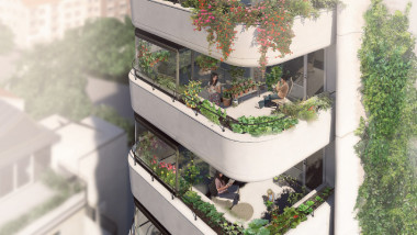 Greenhouse i Malmö – passivhus med solceller