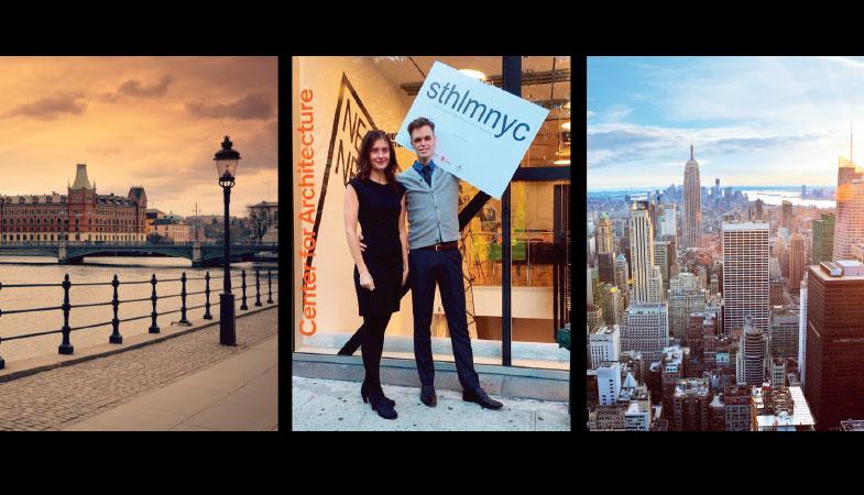Stockholm och New York samarbetar för att lösa städernas framtidsfrågor