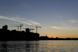Stockholm magnet för offentligt husbyggande