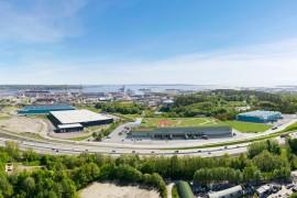 Energieffektiv logistikbyggnad byggs i Göteborg