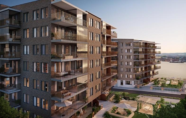 Riksbyggen och Serneke bygger i Göteborg