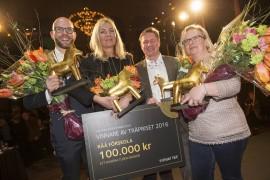 Råå förskola i Helsingborg vinnare av Träpriset 2016