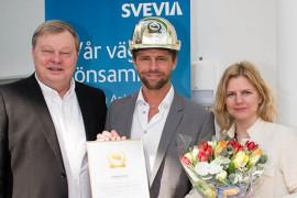 Svevias arbetschef blev Årets Byggchef