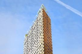 Stockholm kan få 40-våningshus i trä