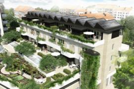 Inflytt i Augustenborgs nya gröna höghus