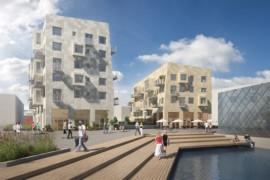 Peab bygger Brf Lindholmskajen i Göteborg