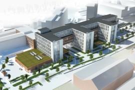 Byggstart för H-huset på Universitetssjukhuset Örebro
