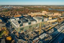 Dubbla miljöcertifieringar för Nya Karolinska Solna