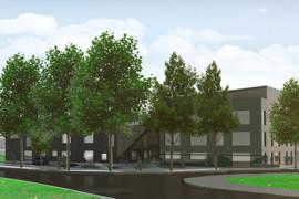 Arcona bygger ny skola och idrottshall i Täby