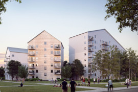 Umeå får norra Sveriges högsta trähus