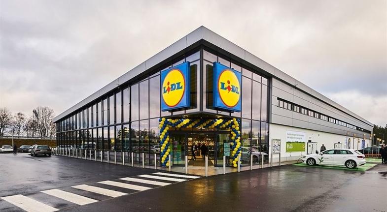 Lidl-butik utsedd till världens grönaste nya handelsbyggnad