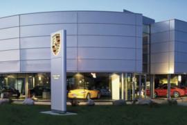 Castellum uppför nya Porsche Center Göteborg