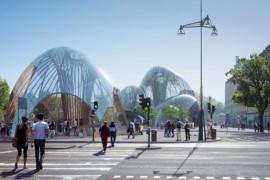 Stockholm kan få inomhuspark i trä och glas