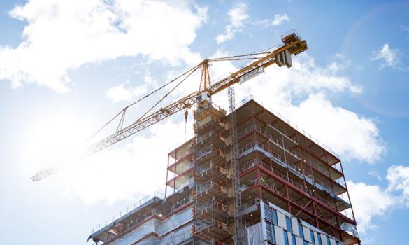 Byggande-bostäder