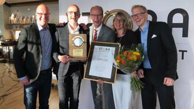 Lindab vann Stora Inneklimatpriset för teknik med ultraljud