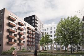 Byggstart för 130 energieffektiva hyresrätter i Norra Djurgårdsstaden