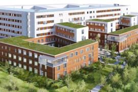 Åhlin & Ekeroth bygger sjukhusbyggnad i passivhusformat