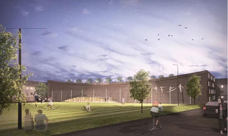 Projektet som ska göra Gröna Vallen mer socialt hållbart
