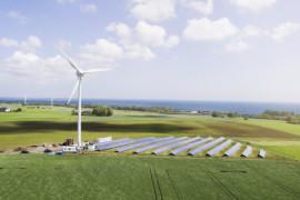 Simris först i Sverige med att bli självförsörjande på förnybar el