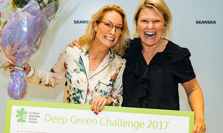 Rymddusch vann tekniktävlingen Deep Green Challenge