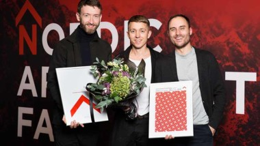 De vann Nordic Architecture Fair Award