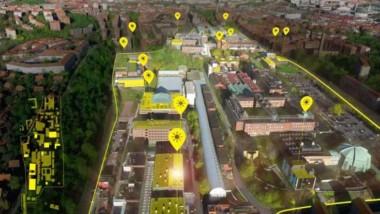 Chalmers siktar på att bli Sveriges mest solcellstäta stadsdel