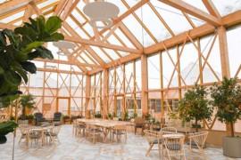 Trädgårdarna-ett hem för äldre i trä och grönska