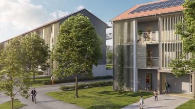 Första bostadsbyggaren i Sverige med solceller på samtliga nya hus
