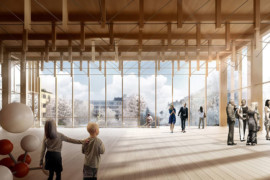 Skellefteås kulturhus vann internationellt arkitekturpris