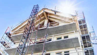 Minskning av antalet påbörjade lägenheter