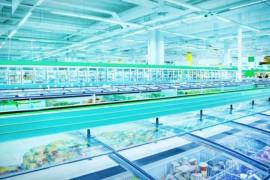 Långtidslagring av kyla och värme sparar energi till butiksfastighet