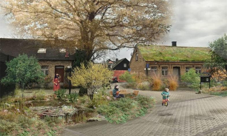 Blågröna lösningar – klimatanpassningsåtgärder i allt tätare städer