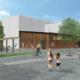 Första spadtag för ny idrottshall i Flemingsberg