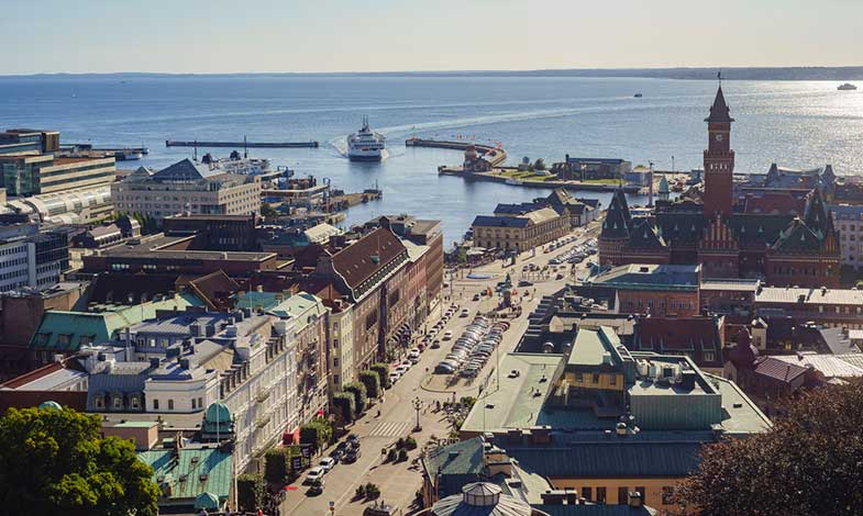 Helsingborg utsedd till Sveriges miljöbästa kommun för andra året i rad