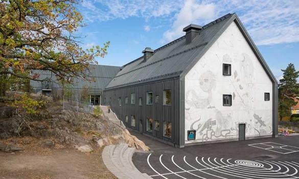 Långbrodalsskolan-i-Älvsjö-vann-Årets-Stockholmsbyggnad