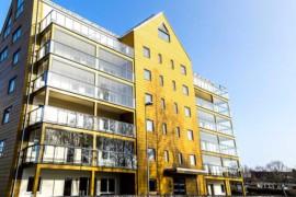 Pelarsalen vinner Växjös nya Träbyggnadspris
