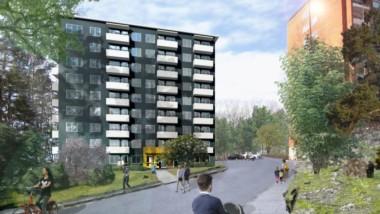 Byggstart av nya lägenheter för unga Huddinge