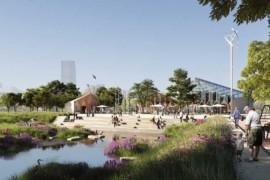 Så blir Malmös nya stadsdelspark i Hyllie
