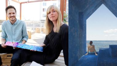 Arkitektduo ger nytt liv åt gammal plast