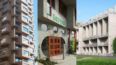 Projekten som tävlar om Svensk Betongs arkitekturpris