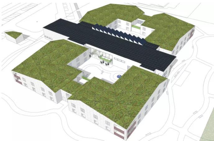 De bygger hållbart äldreboende i Halland