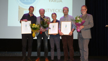 Arkitekt och professor blev Årets byggnadsvårdare