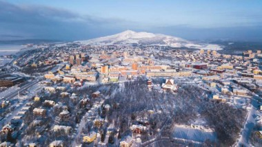 Kiruna har högsta temperaturökningen i Europa