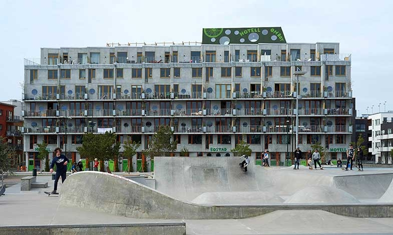 Arkitekturpris Prefab går till lägenhetshotell i Malmö