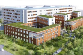 Assemblin installerar ventilationslösning i Tinnerbäckshuset